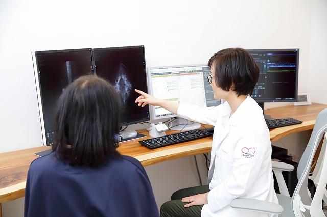 乳腺ドック(自費の乳がん検診)